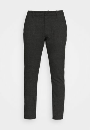 Chinos - charcoal prince of wales