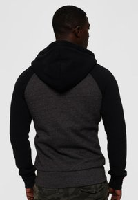 Superdry - Zip-up hoodie - dark gray - 2