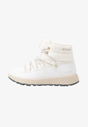 SLOPESIDE VILLAGEOMNI HEATMID - Winter boots - white/dark stone