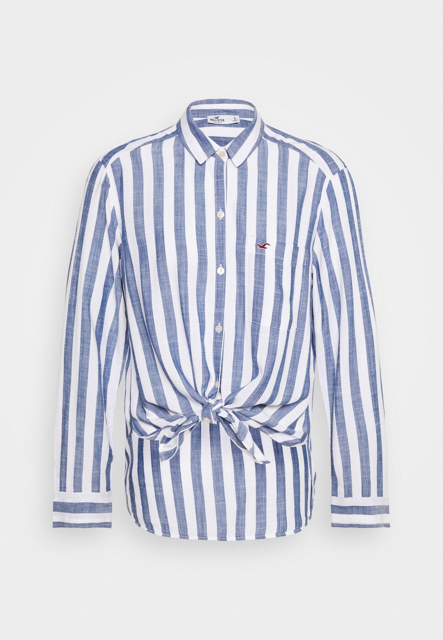 Hollister Co. Skjorte blue Zalando.no