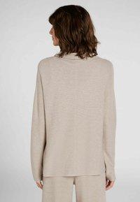 Oui - MIT - Sweatshirt - light stone - 2