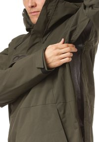 Oakley - INSULATED ANORAK - Snowboard jacket - new dark brush - 3