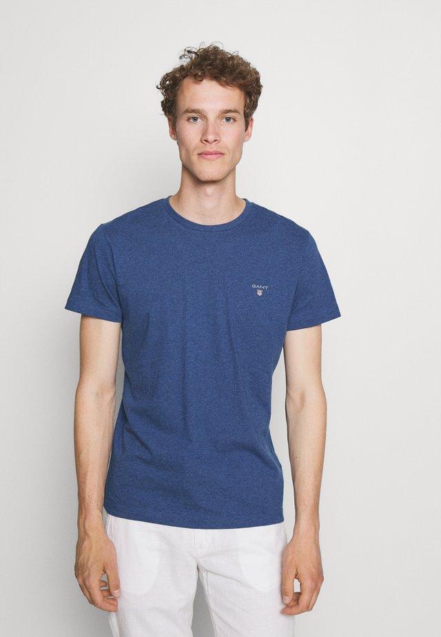 ORIGINAL - T-paita - indigo blue melange