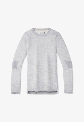 INTRAKNIT - Jumper - light gray h/white