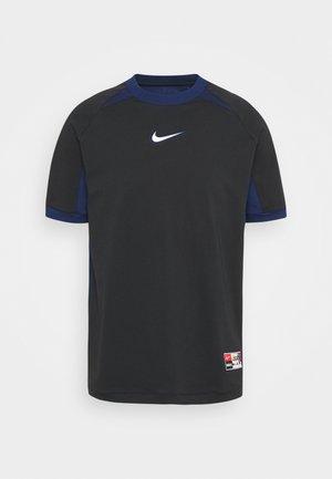 FC HOME - T-shirt med print - black/blue void/white