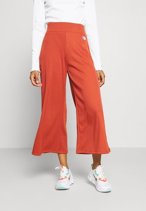 Pantalon classique - firewood orange/black
