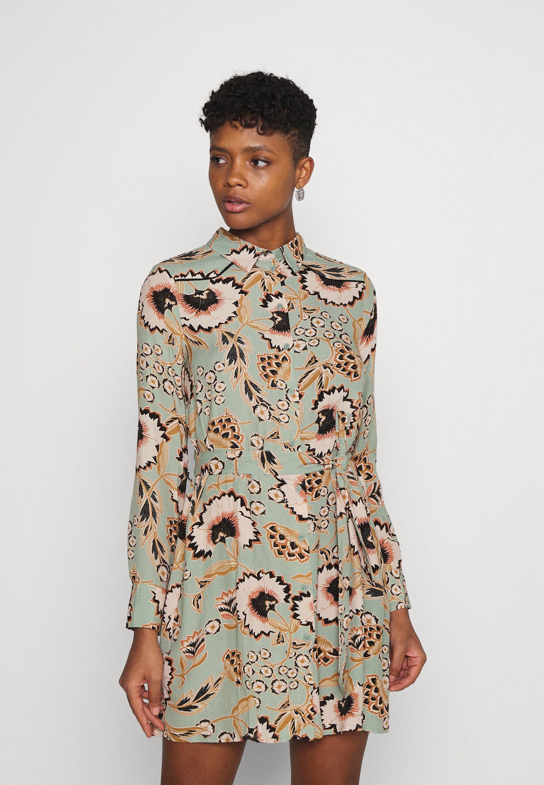 Women VMLOLA SHORT DRESS  - Shirt dress