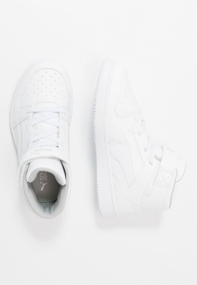REBOUND LAYUP SL V - Sneaker high - white/gray violet