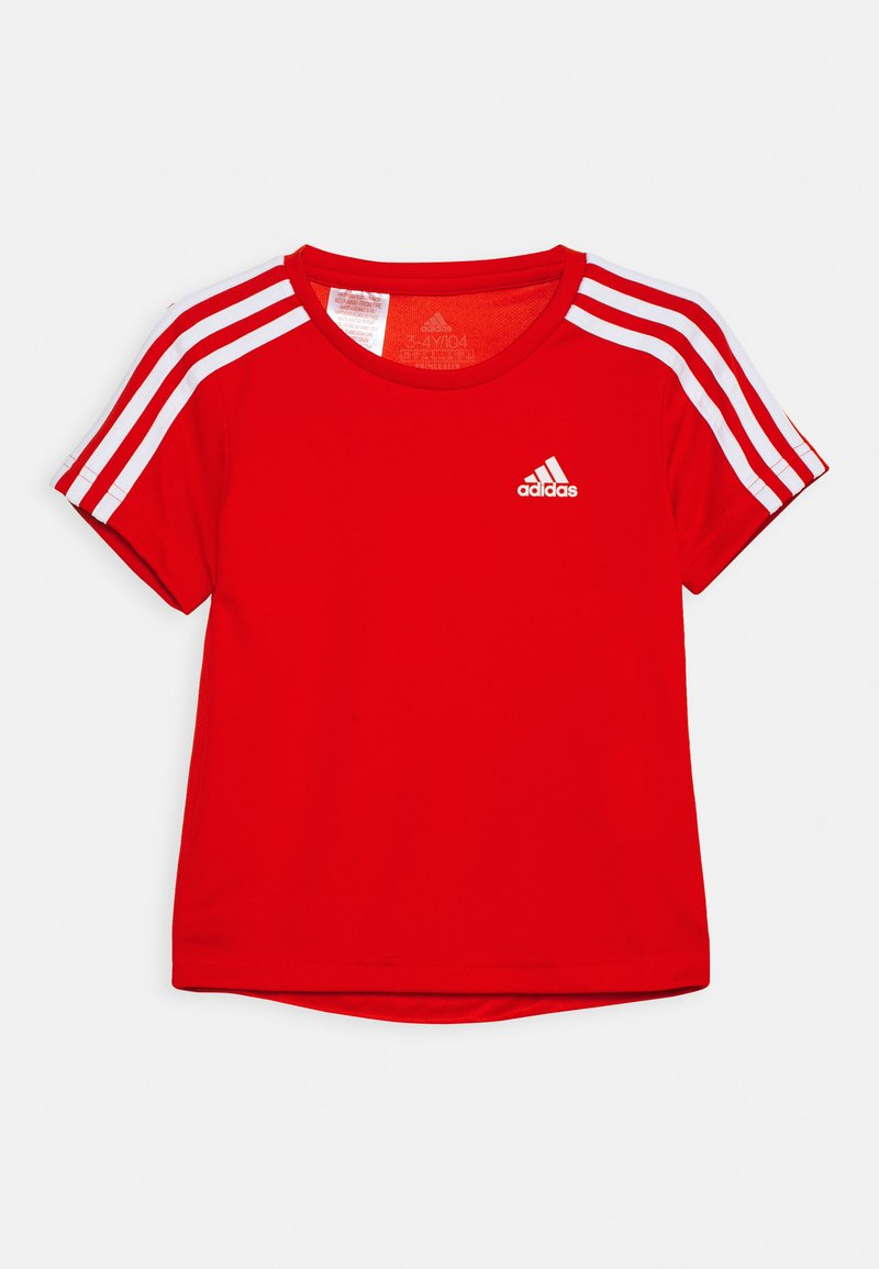 adidas Performance - Camiseta estampada - red/white