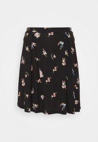 Even&Odd Tall - A-line skirt - black/multi-coloured - 0