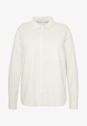 POCKET WORKER SHIRT - Paitapusero - ecru