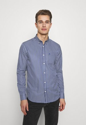 JOHAN MIX STRIPE - Shirt - navy