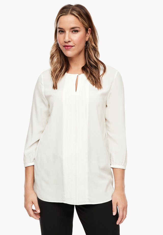 MIT RAFFUNG - Blouse - off-white