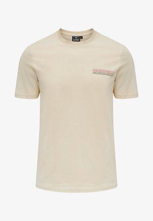 CHRISTOFFER - Print T-shirt - bone white