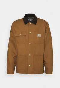 Carhartt WIP - MICHIGAN COAT DEARBORN - Kevyt takki - hamilton brown/tobacco rigid - 8
