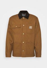 MICHIGAN COAT DEARBORN - Summer jacket - hamilton brown/tobacco rigid