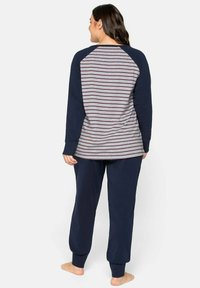 Sheego - Pyjama set - marine gestreift - 2