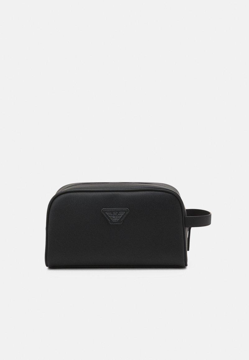 Emporio Armani - UNISEX - Wash bag - black