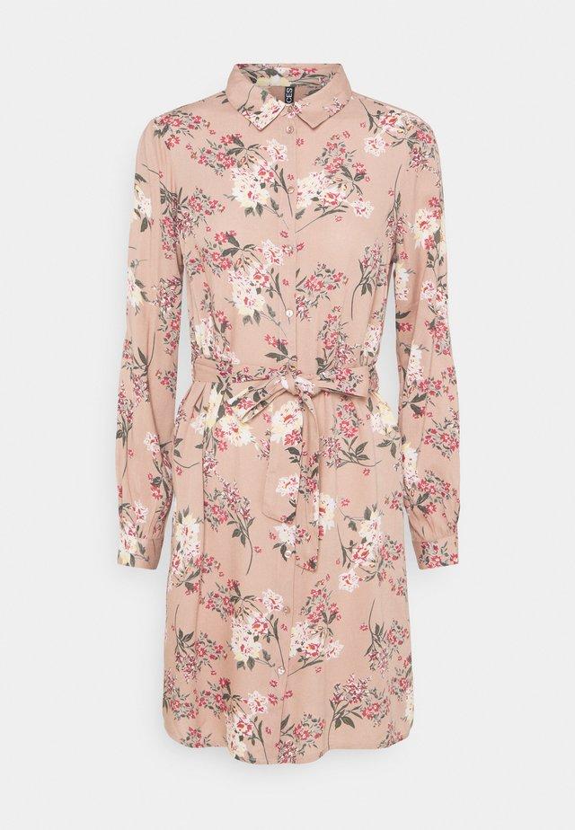 DRESS - Sukienka koszulowa - warm taupe