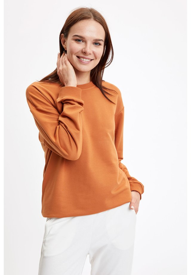 SWEATSHIRT - Bluza - orange