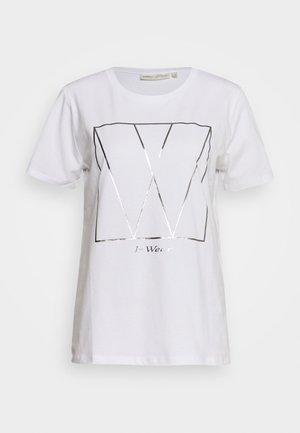 SERA - T-shirts med print - white