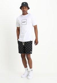 HUF - BOX LOGO - Print T-shirt - white - 1