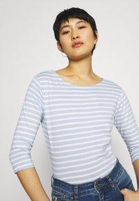 Anna Field - Long sleeved top - light blue/white - 3