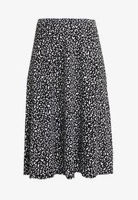 KIOMI - A-line skirt - black/white - 3