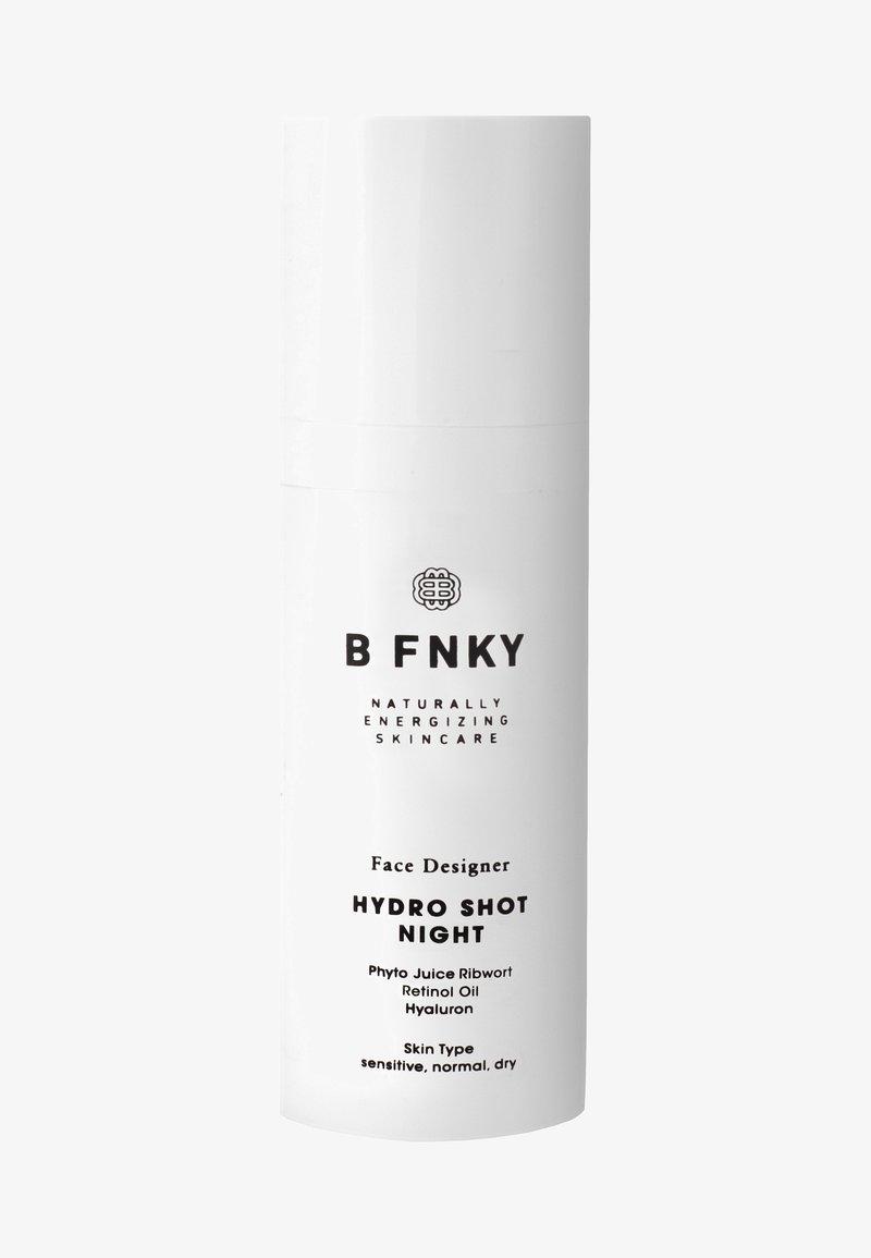 B FNKY - HYDRO SHOT NIGHT 50ML - Nachtpflege - -