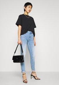 G-Star - 3301 HIGH SKINNY  - Jeans Skinny Fit - indigo aged - 1