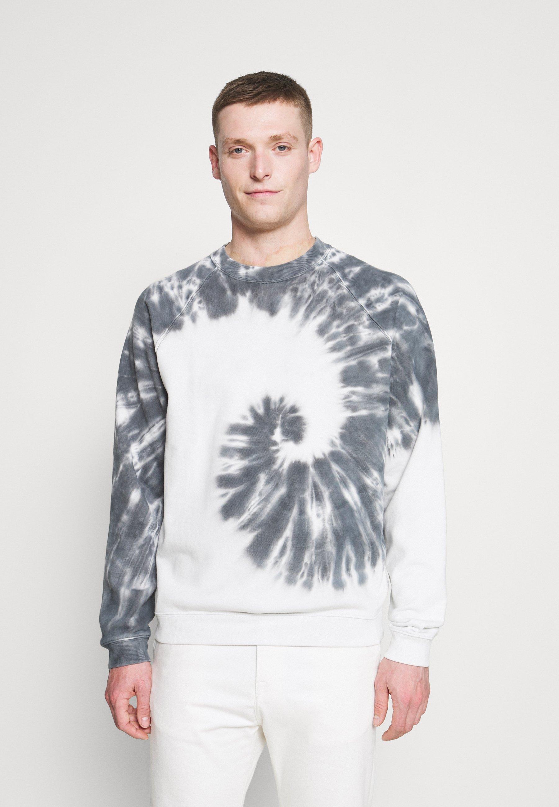 Homme TIE DYE CREW - Sweatshirt