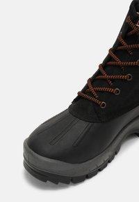 Napapijri - PEAK - Lace-up ankle boots - black - 4