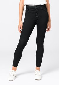 HALLHUBER - ELLA  - Jeans Skinny Fit - black denim - 0
