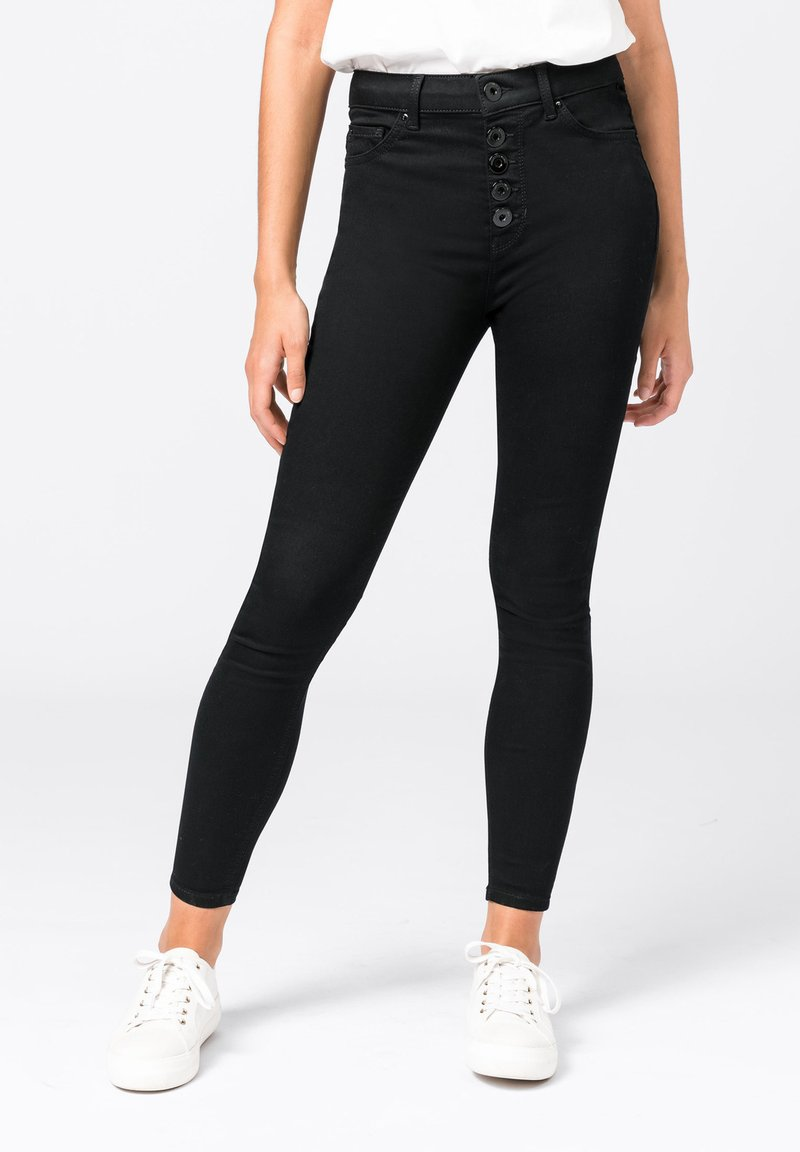 HALLHUBER - ELLA  - Jeans Skinny Fit - black denim
