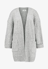 ONLY Tall - ONLCHUNKY 7/8 CARDIGAN - Cardigan - light grey melange - 4