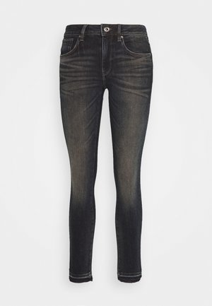 3301 MID SKINNY RIPPED ANKLE  - Jeans Skinny Fit - antic nebulas