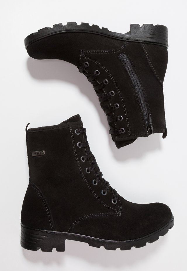 DISERA - Lace-up ankle boots - schwarz