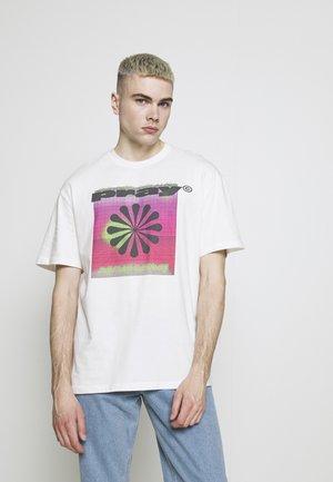 LOOP UNISEX - T-shirt med print - off white