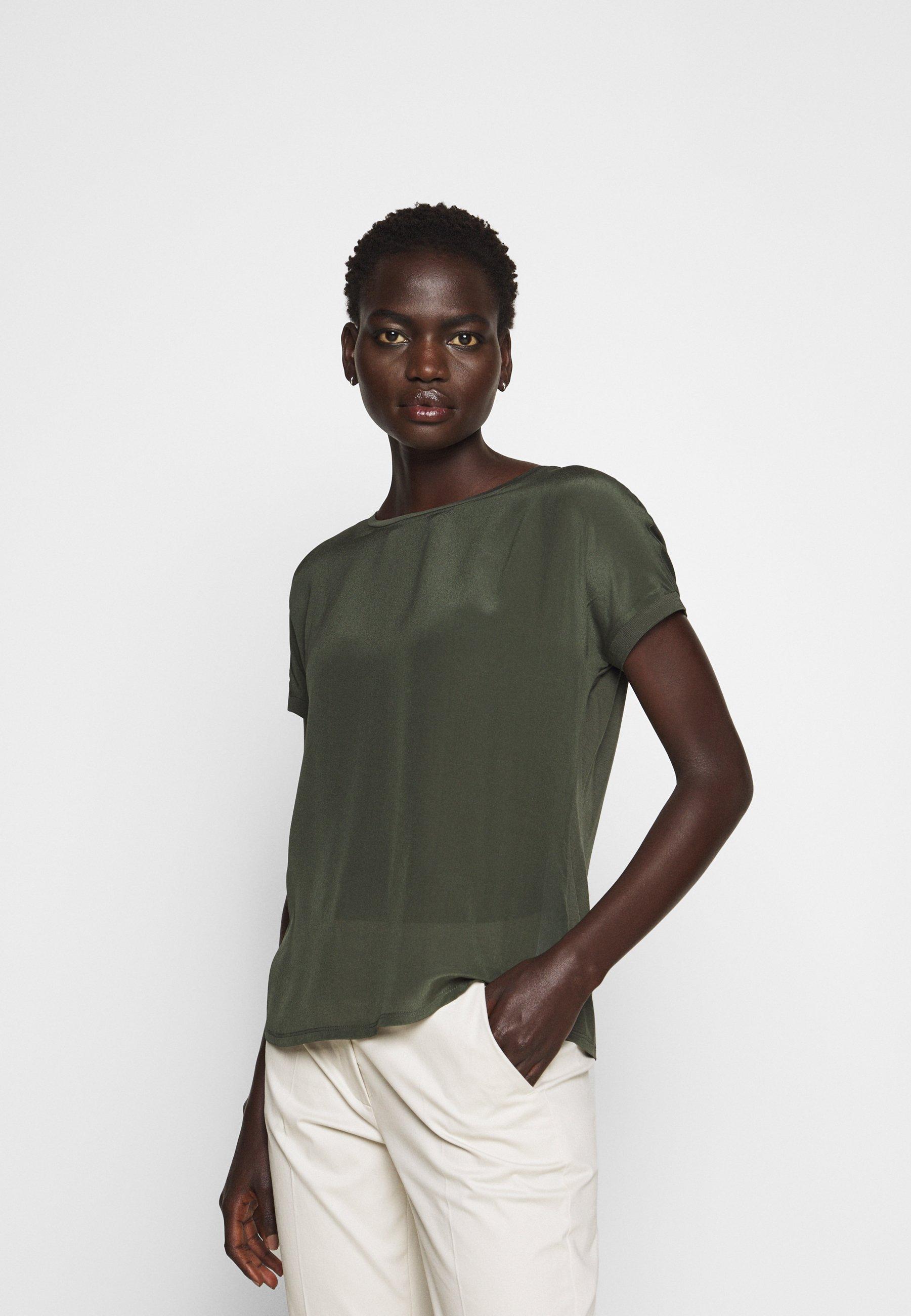 MAX&Co. CREDERE - Blouse - khaki green - Chemisiers et tuniques femme wmOn0