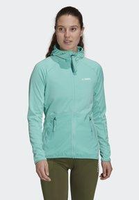 adidas Performance - Fleece jacket - green - 0