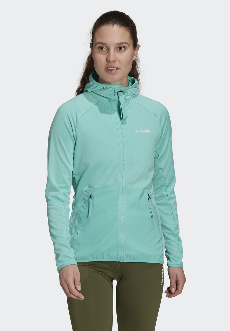 adidas Performance - Fleece jacket - green