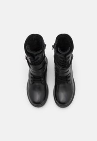 Friboo - LEATHER - Lace-up boots - black - 8
