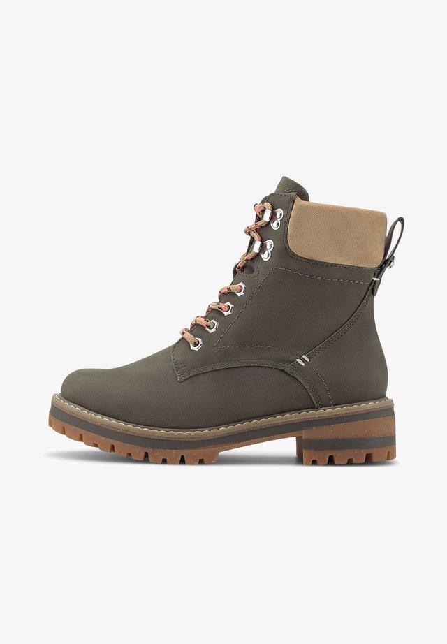 FINCATO-B - Lace-up ankle boots - khaki