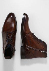 Giorgio 1958 - Šněrovací kotníkové boty - marrone/blu - 1