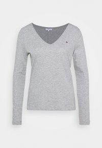 Tommy Hilfiger - REGULAR CLASSIC - Long sleeved top - grey - 7