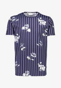 Lindbergh - AOP S/S - T-shirt print - dk blue - 2