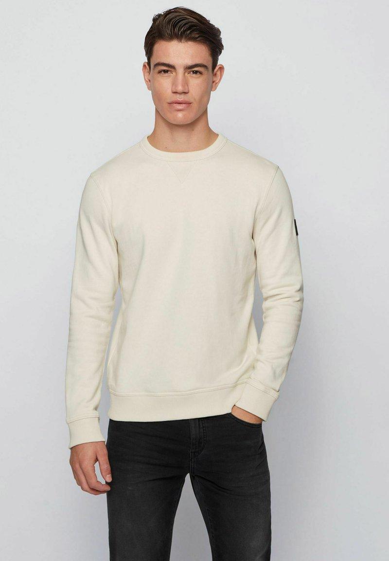 BOSS - WALKUP - Sweatshirt - light beige