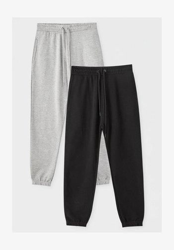 2 PACK - Pantaloni sportivi - dark grey
