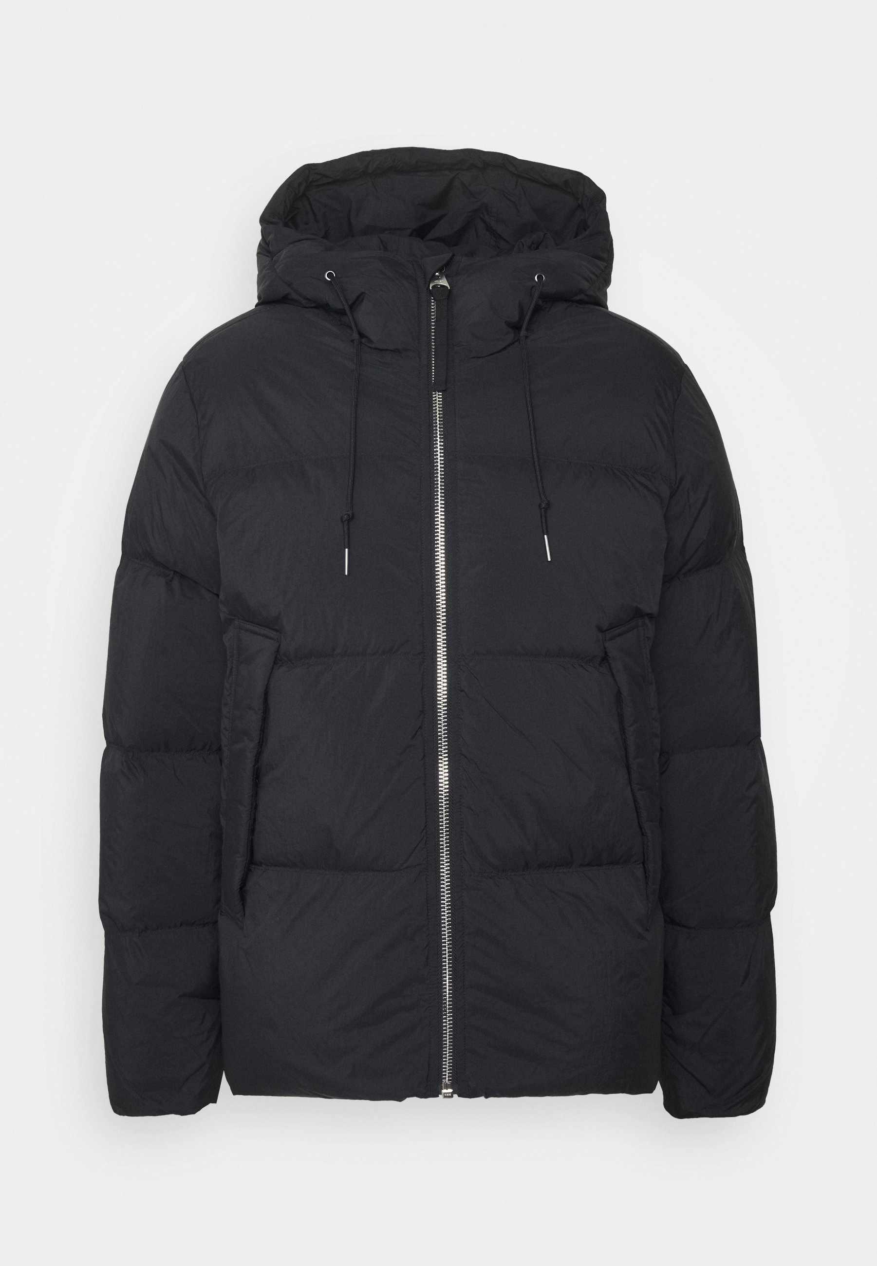 JACKET Gewatteerde jas black dark