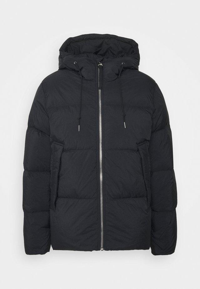 JACKET - Down jacket - black dark
